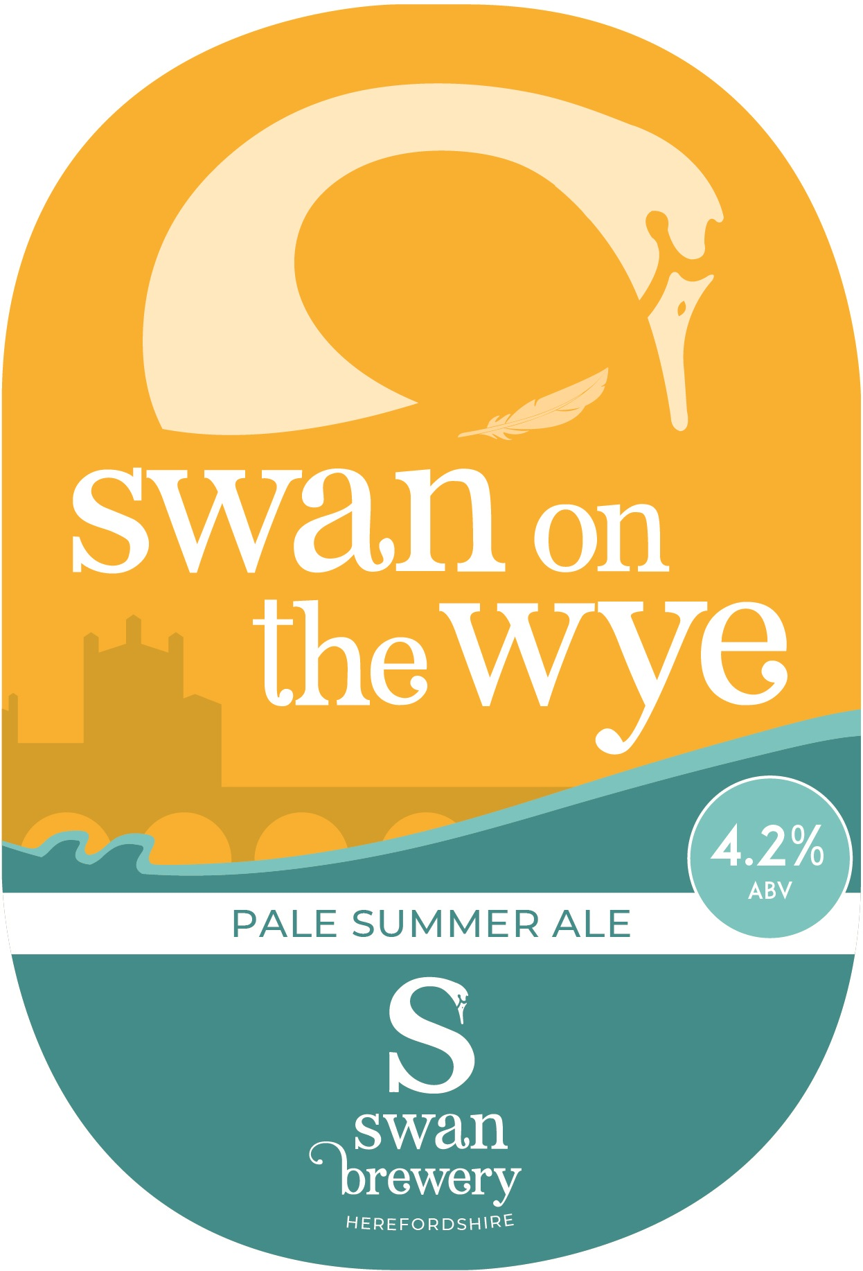 Swan Brewery Swan on the Wye 9 Gallons    4.2%