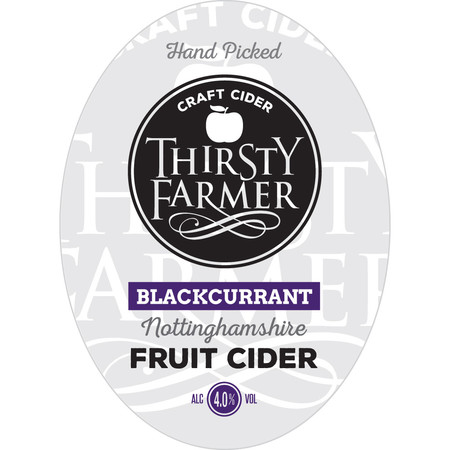 Thirsty Farmer Blackcurrant Cider 20Ltr Bib    4.0%