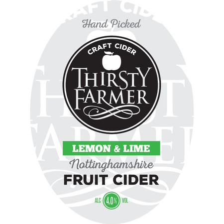Thirsty Farmer Lemon And Lime Cider 20Ltr Bib    4.0%