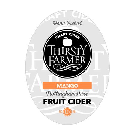 Thirsty Farmer Mango Cider 20Ltr Bib    4.0%