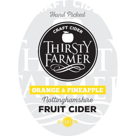 Thirsty Farmer Orange And Pineapple Cider 20Ltr Bib    4.0%