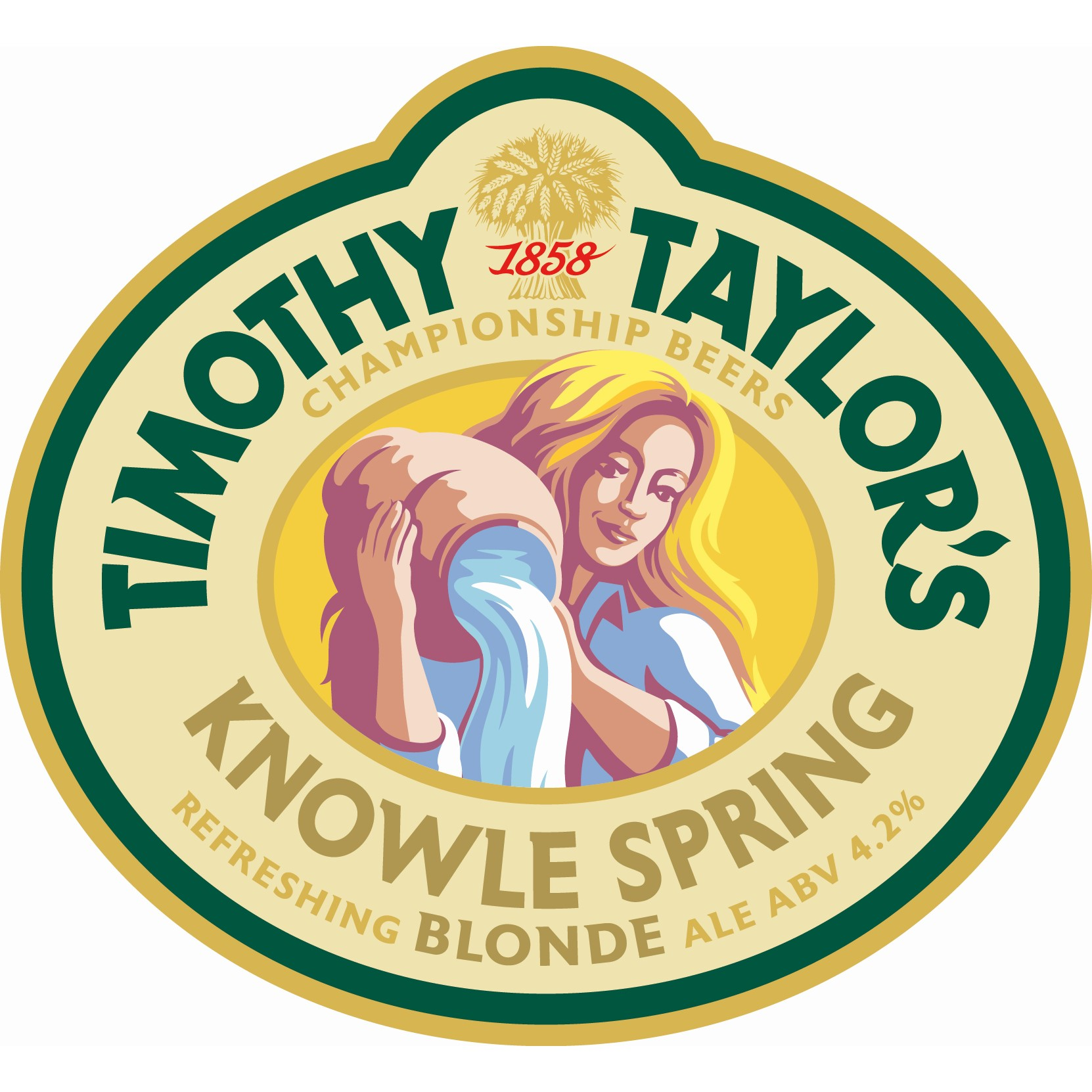 Timothy Taylor Knowle Spring Blonde 9 Gallon Blonde   4.2%