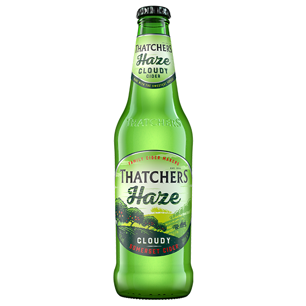 Thatchers Somerset  Haze 12x500ml Bottles    4.5%