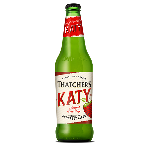 Thatchers Katy Bottled Cider 12 x 500ml    7.4%