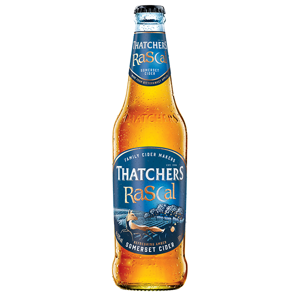 Thatchers Rascal Cider 6 x 500ml Bottles     4.5%