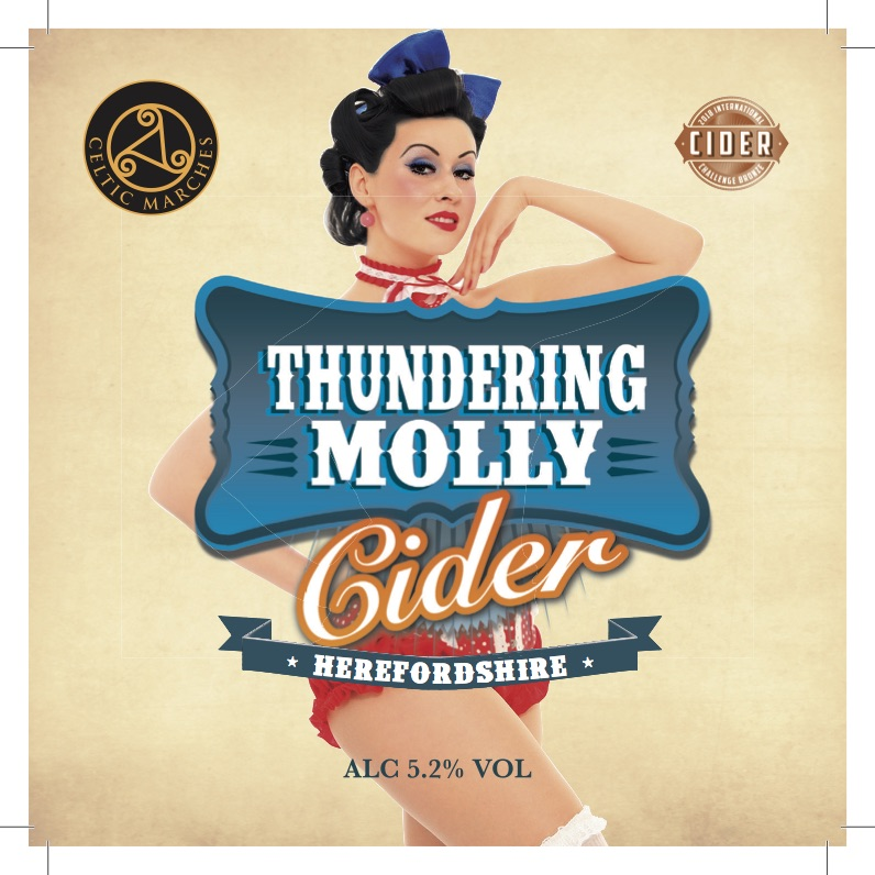 Celtic Marches Thundering Molly 20Ltr Bag In Box Clear 5.2%