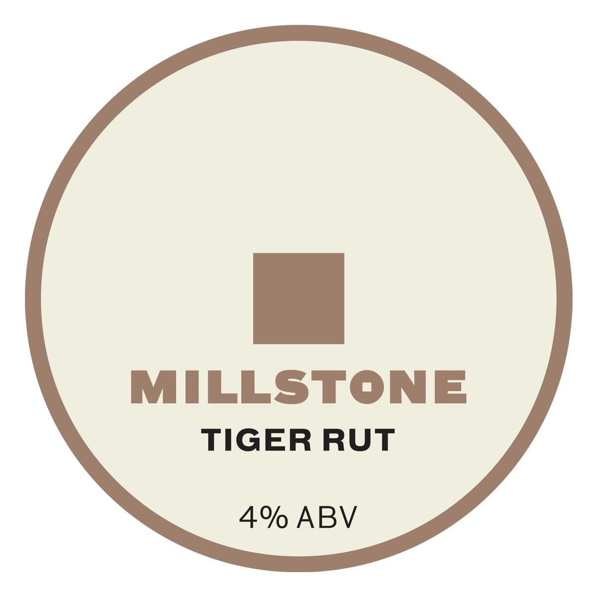 Millstone Tiger Rut 9 Gallons Straw 4.0%