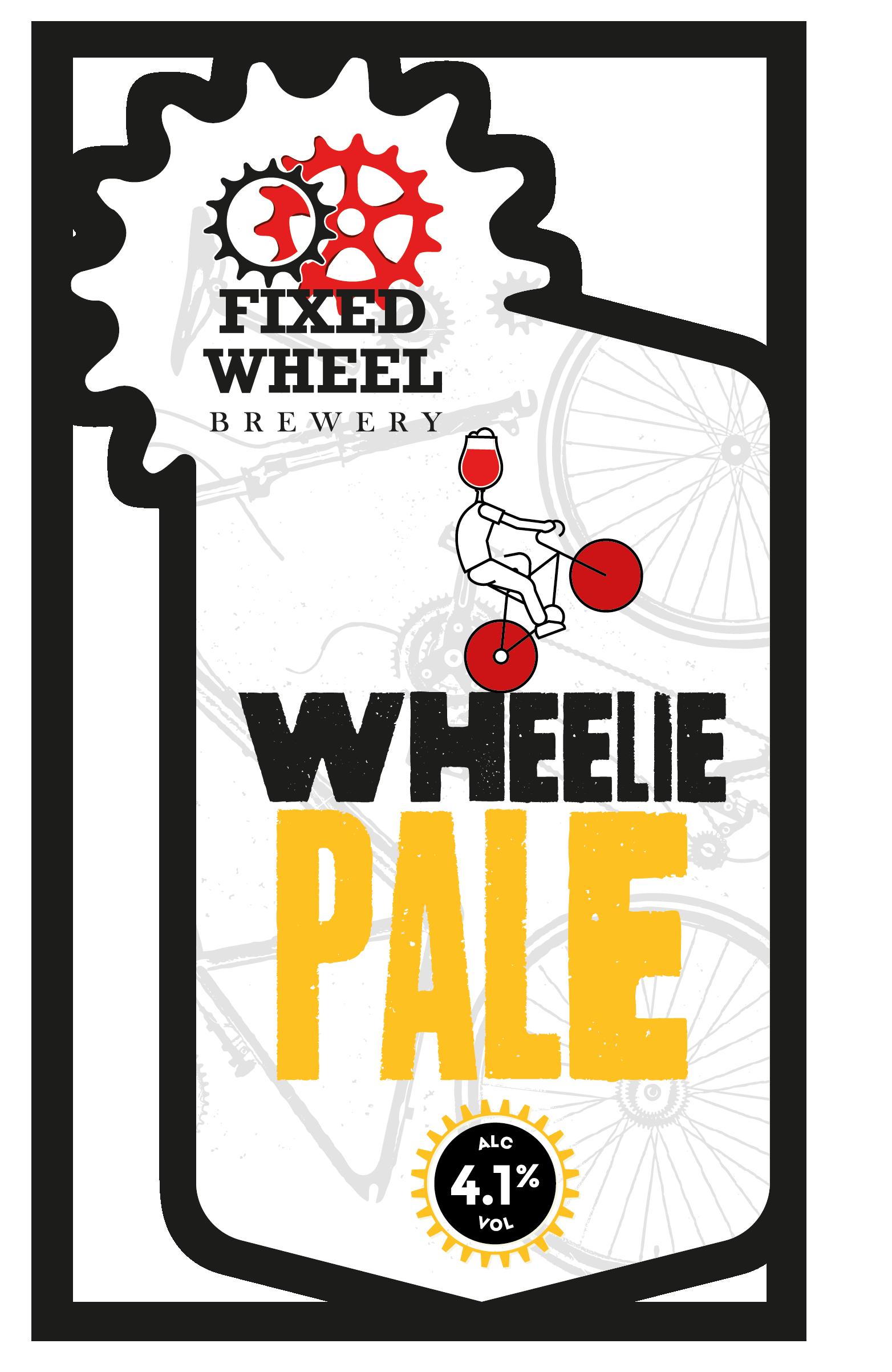 Fixed Wheel Wheelie Pale 9 Gallons Pale   4.1%
