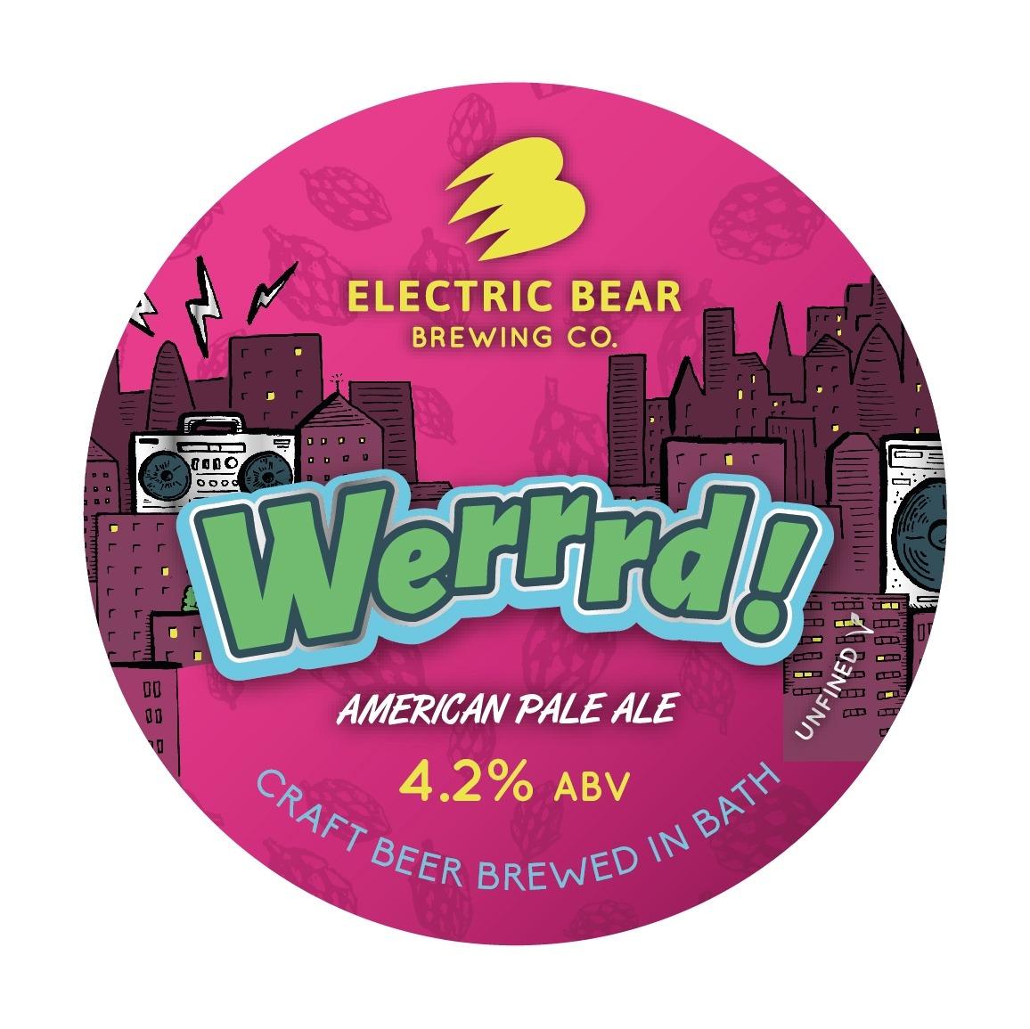 Electric Bear Werrrd APA 30Ltr E-Keg Pale 4.2%