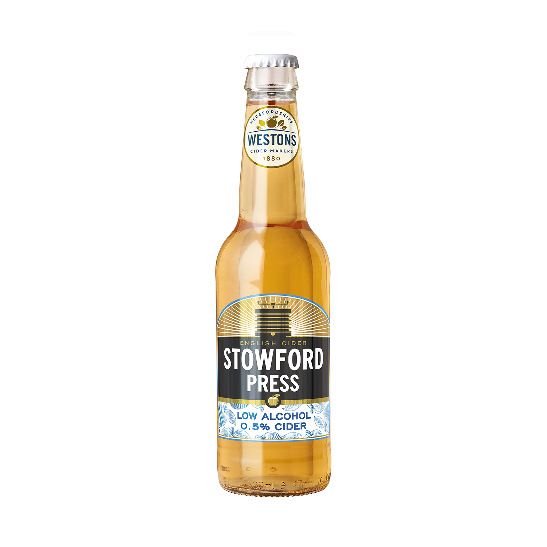 Westons Stowford Press Low Alcohol 12 x 330ml    0.5%