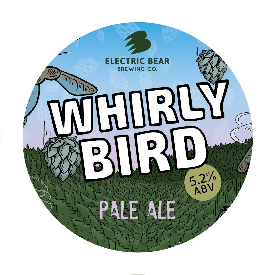 Electric Bear Whirly Bird 30Ltr E-Keg Pale 5.2%