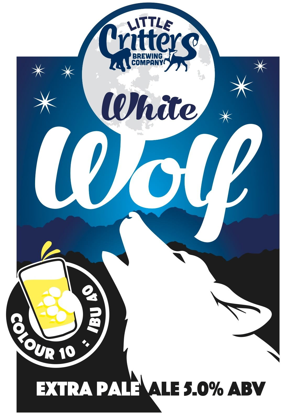 Little Critters White Wolf 9 Gallons Pale Straw 5.0%