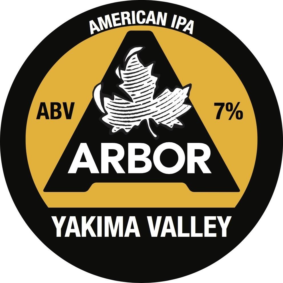 Arbor Yakima Valley 30Ltr E-Keg Pale 7.0%