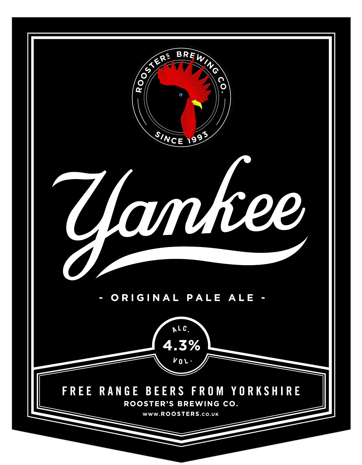 Rooster's Yankee 9 Gallons Pale   4.3%