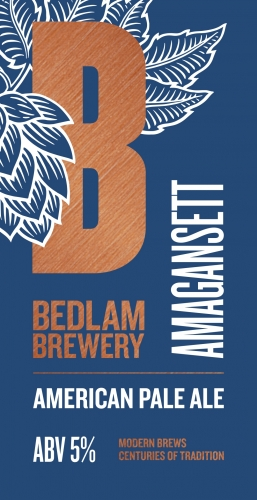 Bedlam Brewery Amagansett APA 9 Gallons Pale 5.0%