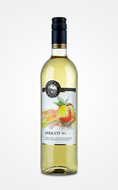 Lyme Bay Winery Apricot Wine 75cl    11.0%