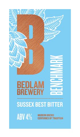 Bedlam Brewery Benchmark 9 Gallon Amber  4.0%