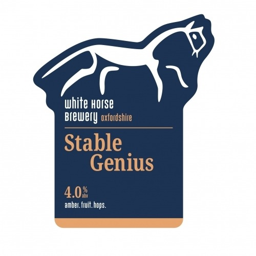 White Horse Stable Genius 9 Gallons Amber 4.0%
