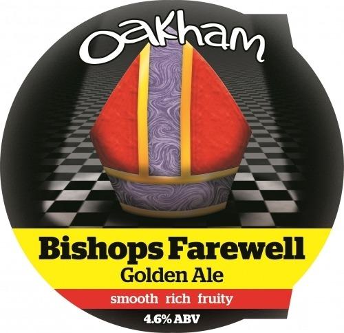 Oakham Bishops Farewell 9 Gallons Golden  4.6%