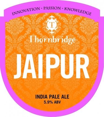 Thornbridge Jaipur 9 Gallons Pale Golden 5.9%