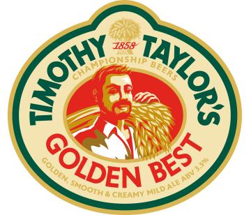 Timothy Taylor Golden Best 9 Gallons Light Amber 3.5%