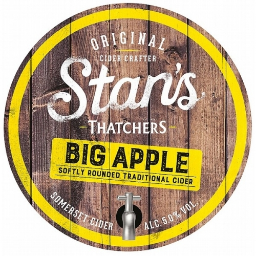 Thatchers Stan's Big Apple 20ltr Bag in Box Clear 5.0%