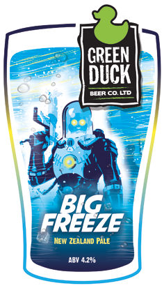 Green Duck Big Freeze 9 Gallons Pale    4.2%