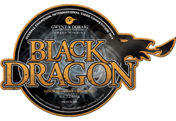 Gwynt Y Ddraig Black Dragon 20Ltr  Bag In Box Clear 7.2%