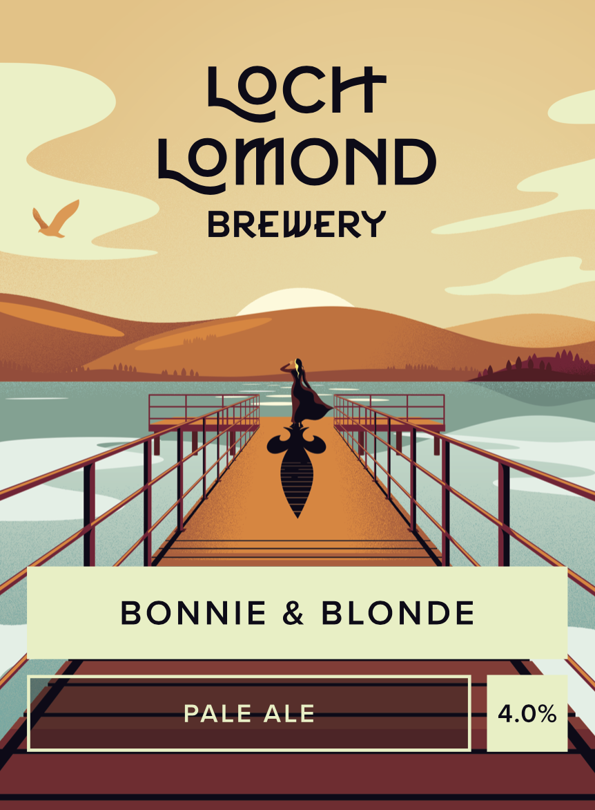 Loch Lomond Bonnie n' Blonde 9 Gallons Light Blond 4.0%