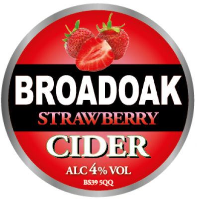 Broadoak Strawberry 20Ltr Bag in Box 4.0%
