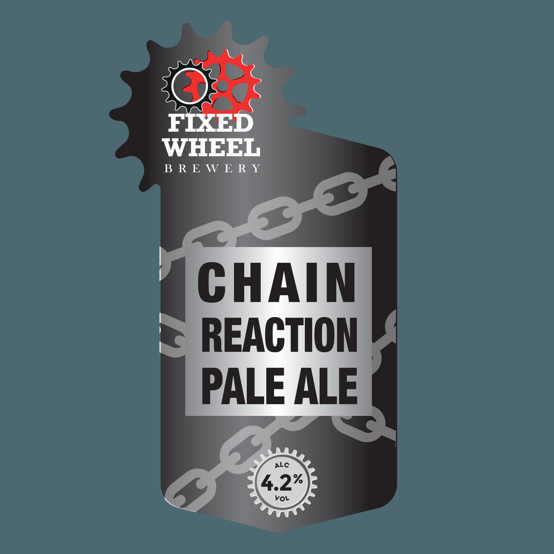 Fixed Wheel Chain Reaction 9 Gallon Pale  4.2%