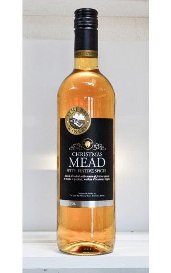 Lyme Bay Winery Christmas Mead 75cl    10%