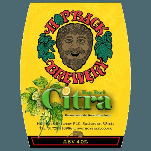 Hop Back Citra 9 Gallons Golden 4.0%