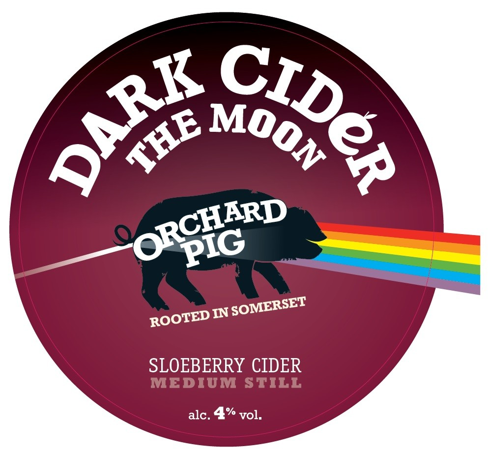 Orchard Pig Dark Cider The Moon 20Ltr Bag in Box Clear 4.0%