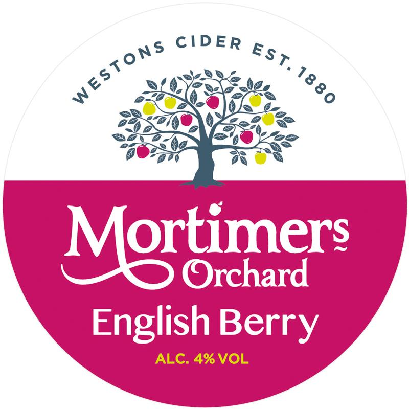 Westons Mortimers Orchard English Berry 11 Gallon    4.0%