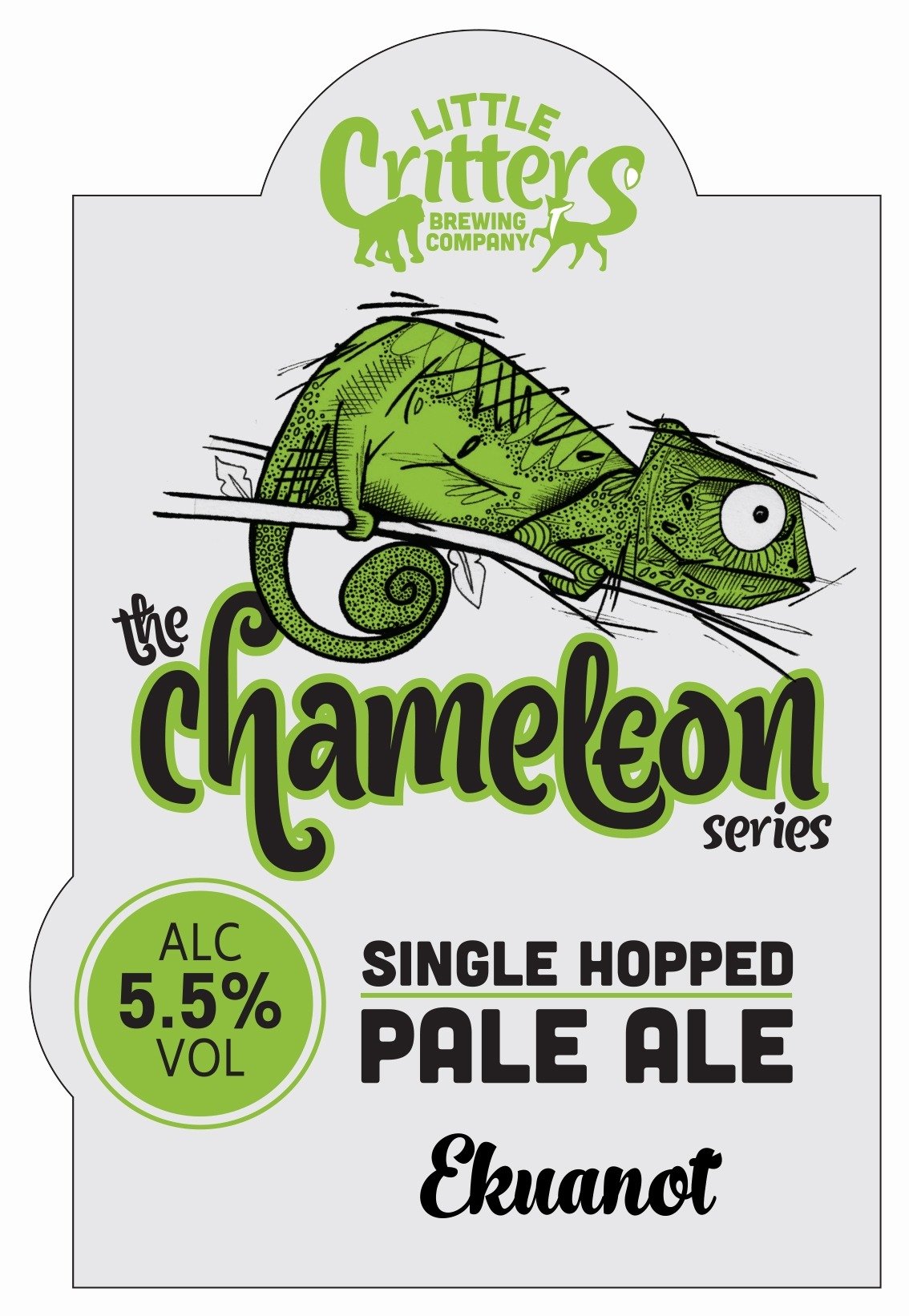 Little Critters Chameleon Mosaic 9 Gallons Pale Straw 5.5%
