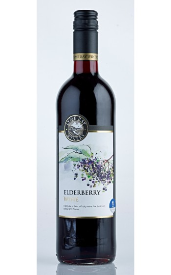 Lyme Bay Winery Elderberry Wine 75cl    11.0%