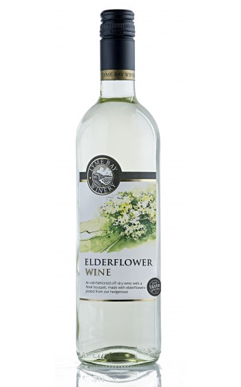 Lyme Bay Winery Elderflower Wine 75cl    11.0%