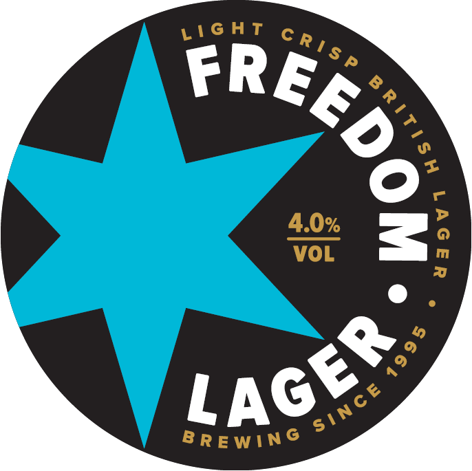 Freedom Four- British Lager 50 Litre Keg    4.0%