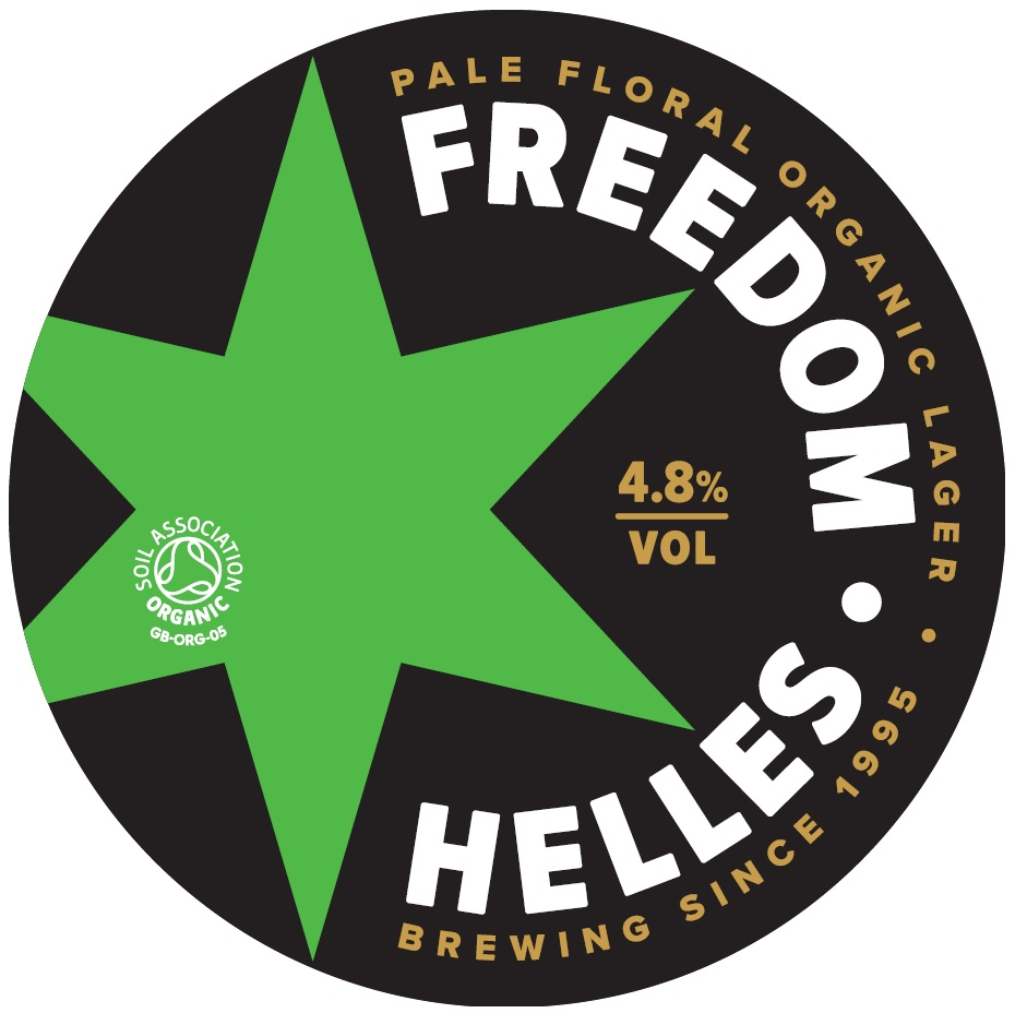 Freedom Organic- Helles Lager 50 Litre Keg    4.8%