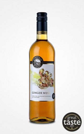 Lyme Bay Winery Ginger Wine 75cl    14.5%