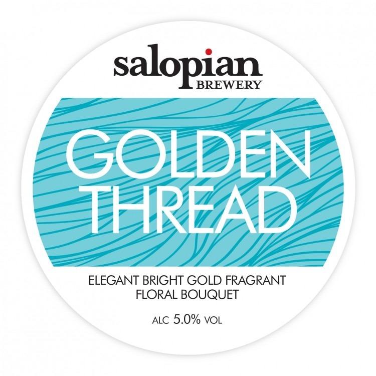 Salopian Golden Thread 9 Gallons Light Golden 5.0%