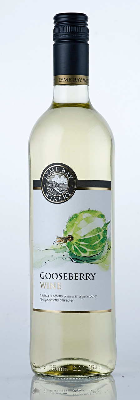 Lyme Bay Winery Gooseberry Wine 75cl    11.0%
