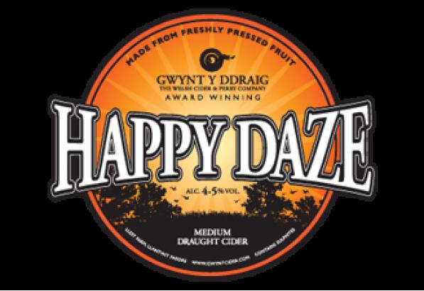 Gwynt Y Ddraig Happy Daze 20Ltr Bag In Box Clear 4.5%