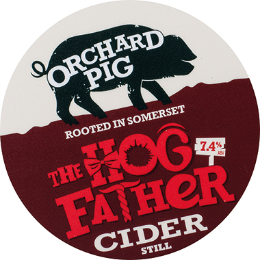 Orchard Pig Hogfather 20Ltr Bag In Box Clear 7.4%