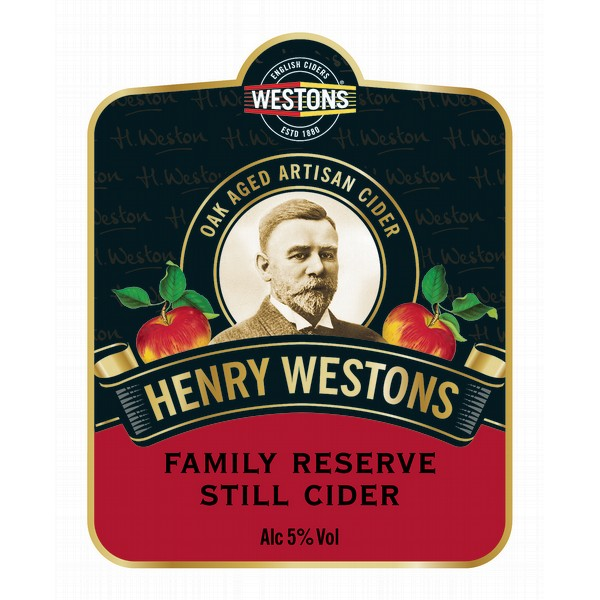 Westons Family Reserve 20 Litre Bag In Box Clear 5.0%