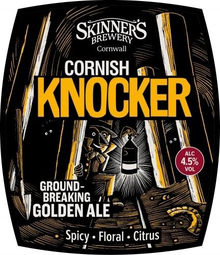 Skinner's Cornish Knocker 9 Gallons Golden 4.5%