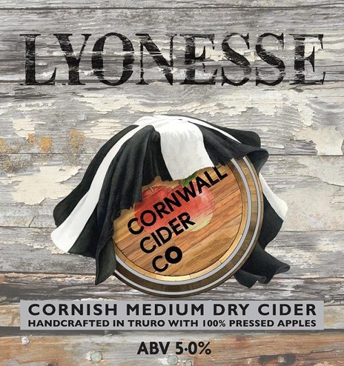 Cornwall Cider Lyonesse 20Ltr Bag In Box Clear 5.0%