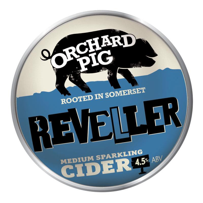 Orchard Pig Reveller 11 Gallons    4.5%