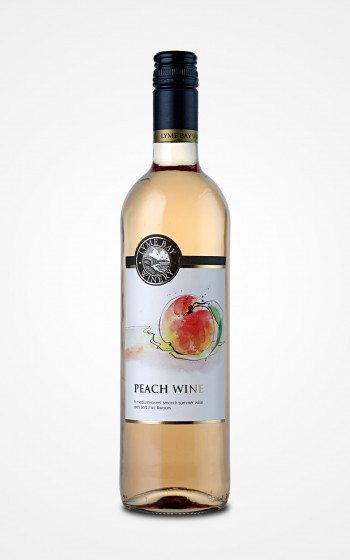 Lyme Bay Winery Peach Wine 75cl    11.0%